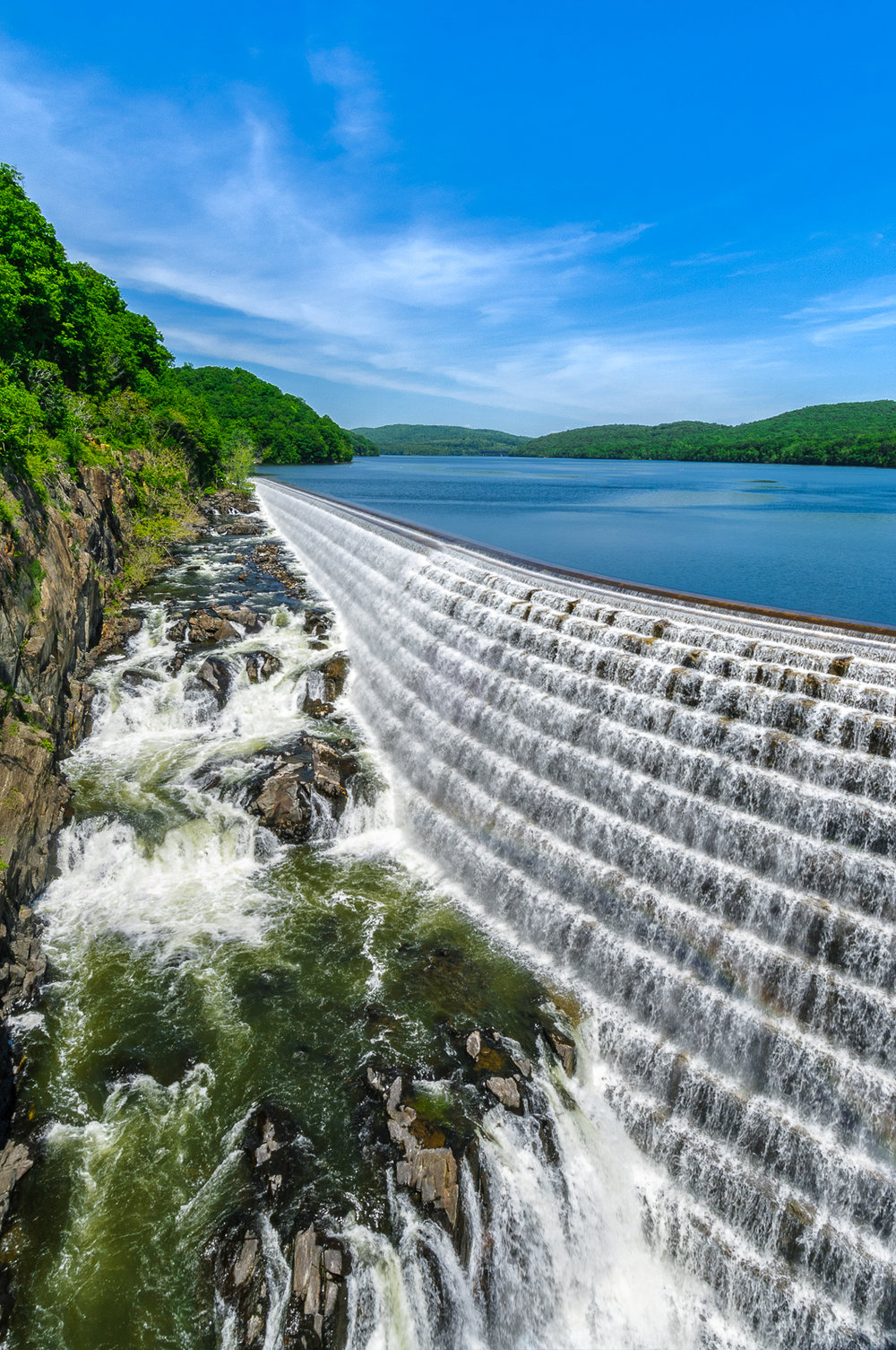 * Croton Dam and spillway *