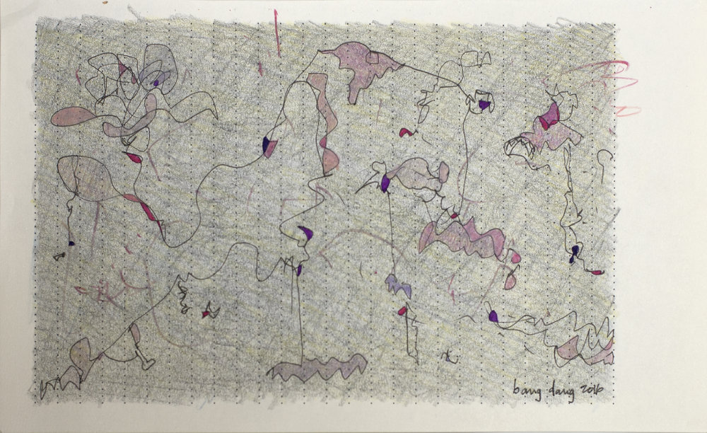 Bits of Purple in Diary, 2016