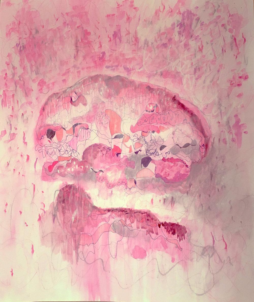 Floating Pink 01, 2017