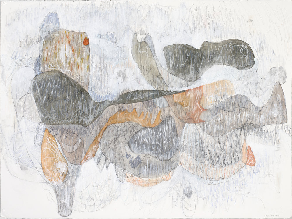 Gray and Orange Massing, 2017