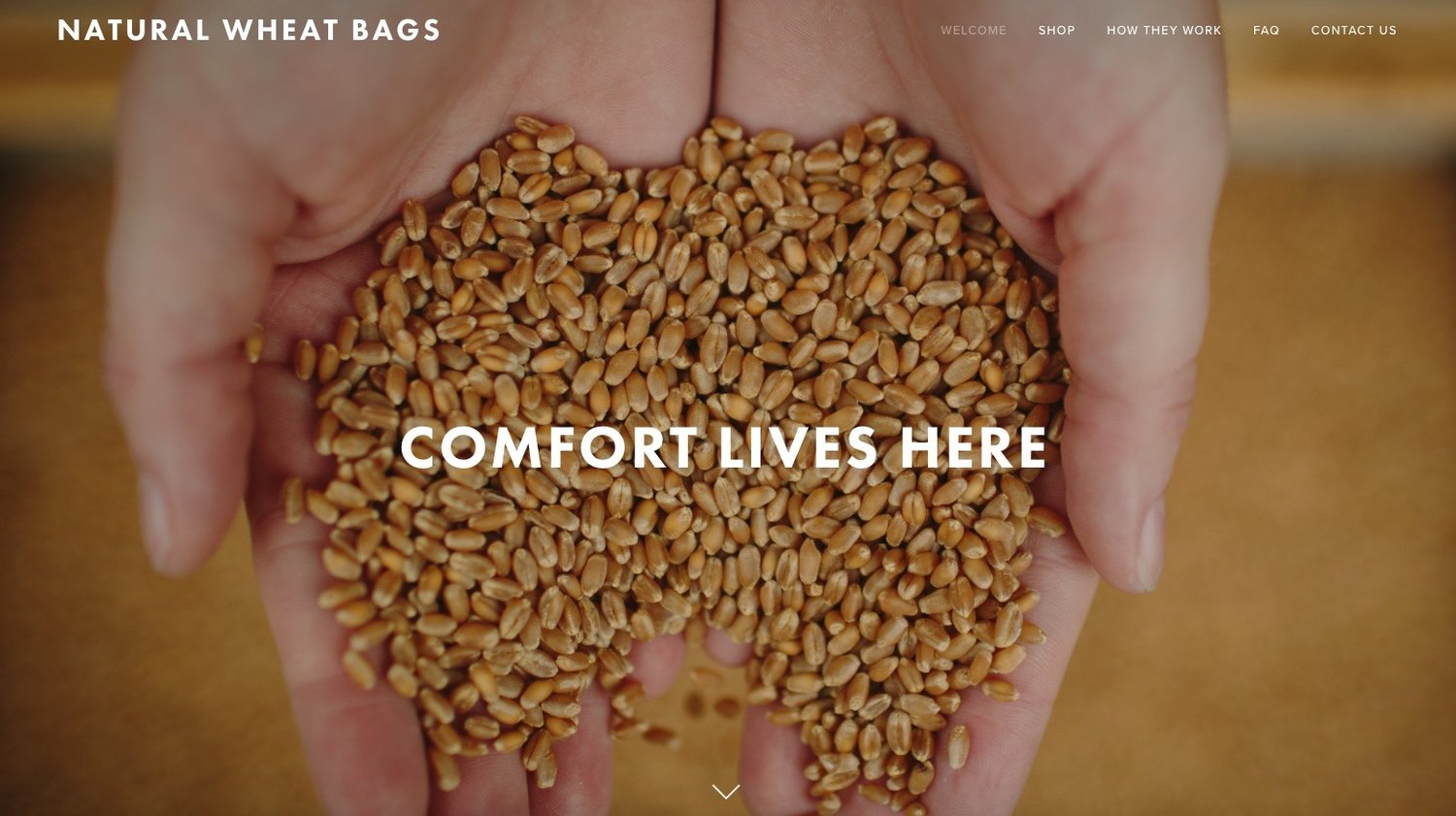 Natural Wheat Bags
