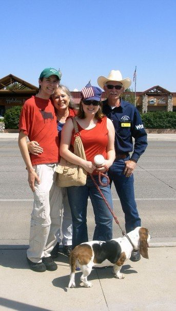 Paul Fees, Candidate for 2016 Wyoming House District 24, and family.