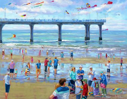 KITE FEST - NEW BRIGHTON BEACH