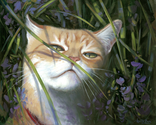 SNIFFING THE FLOWERS
