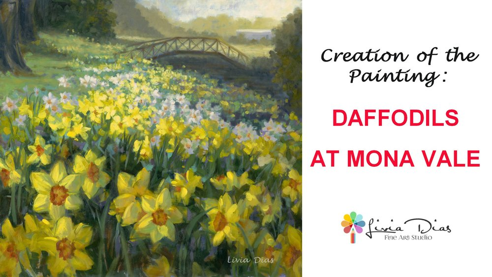 Daffodils at Mona Vale Painting video