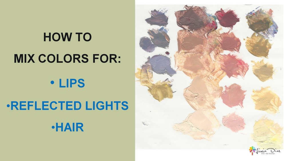 How to Mix Hair and Lips color