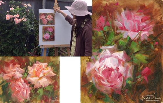 Livia-Dias-Rose-Painting