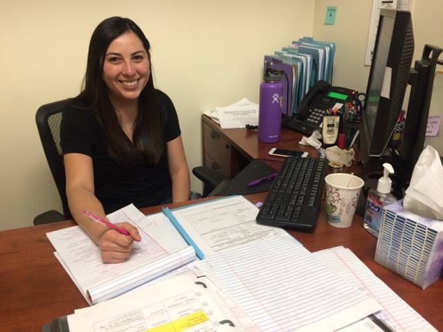 """My favorite part about being a social worker at the Law Foundation is getting to work with immigrant children. I get to hear their stories and support them through their legal proceedings.""    - Cynthia Valenzuela"