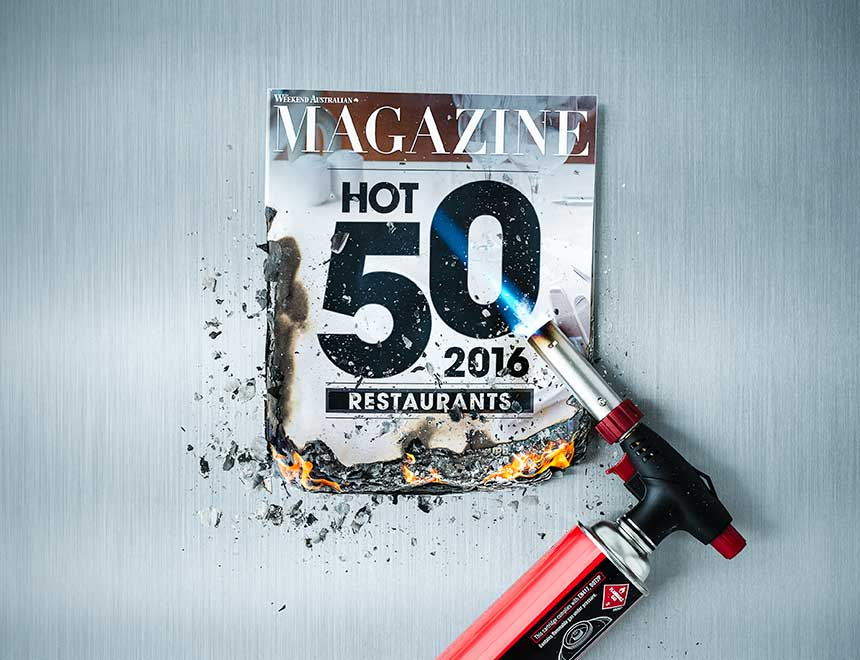 The Australian / Hot 50 Magazine