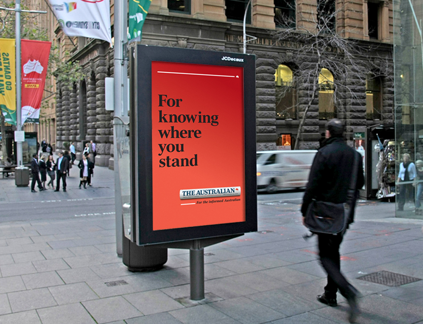 The Australian  / Brand/Integrated Campaigns