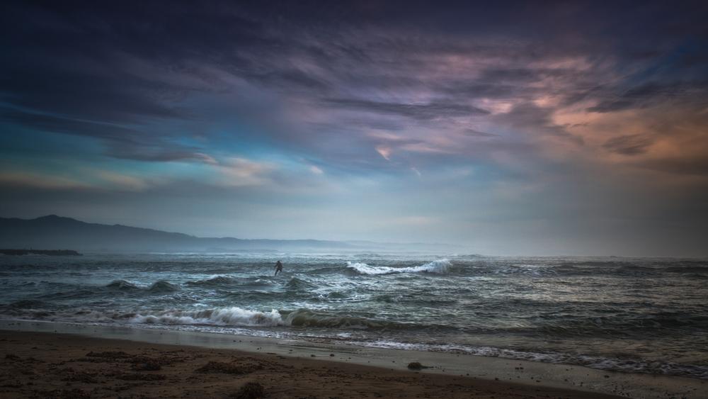 Pillar Point Beach Half Moon Bay California