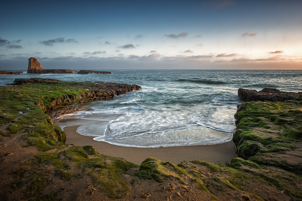 Four Mile Beach Davenport California