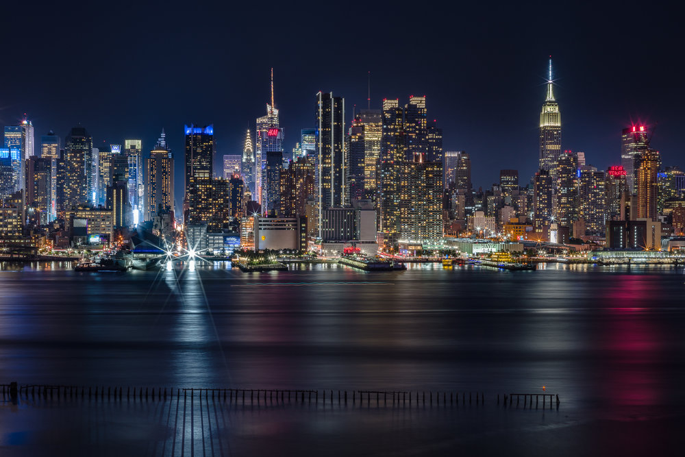 Night Lights Manhattan