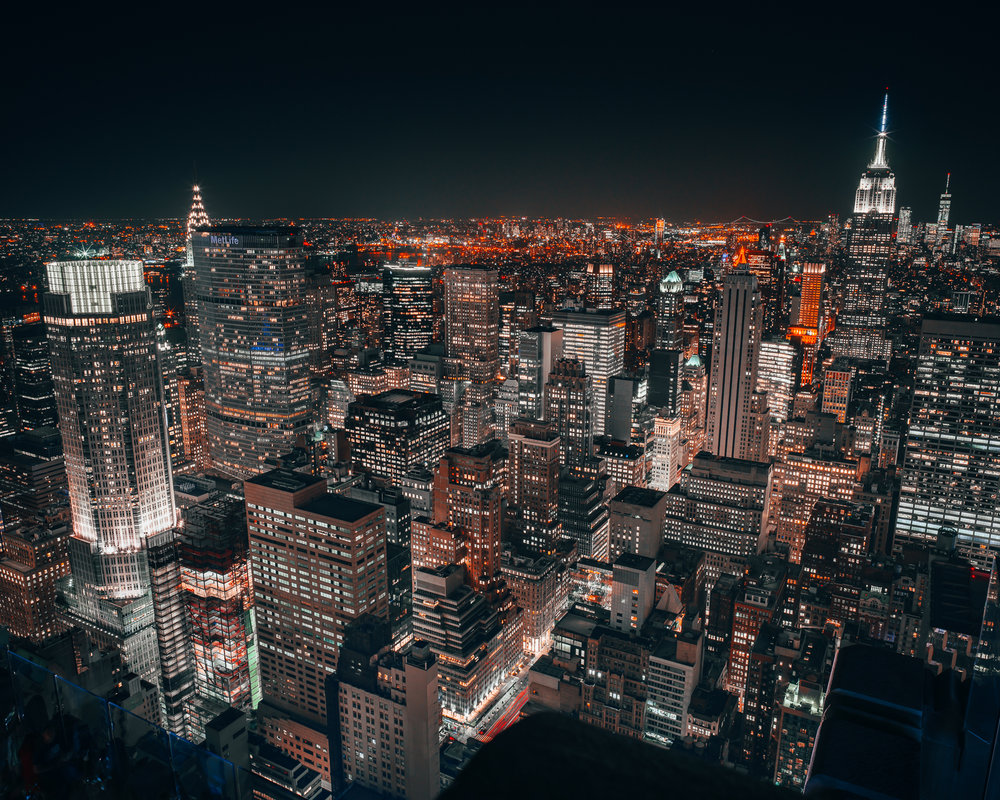 City Lights New York