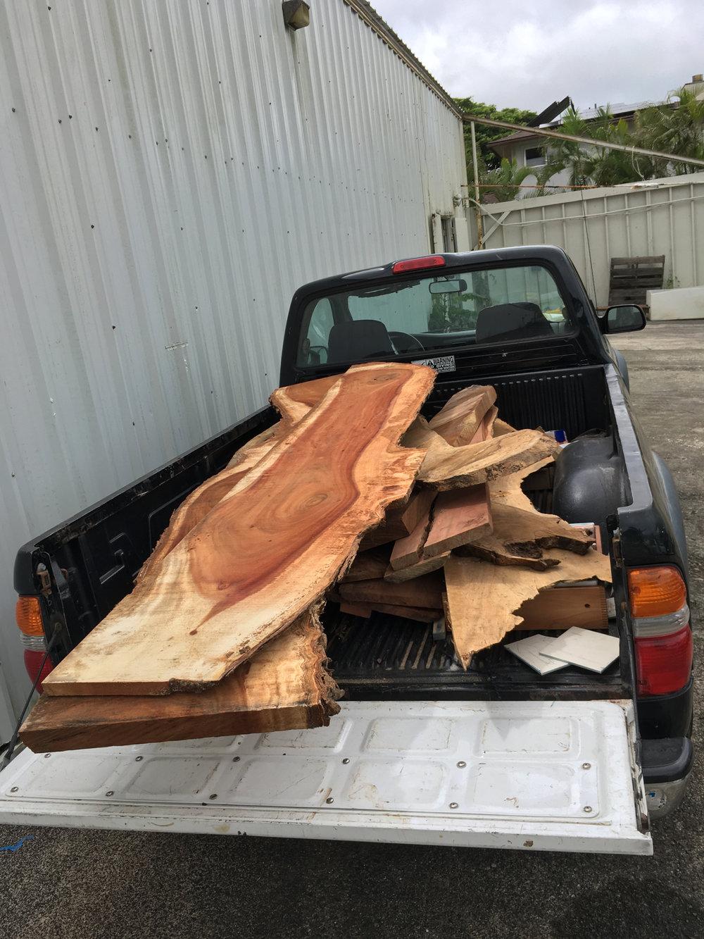 waimanalo hawaiian wood