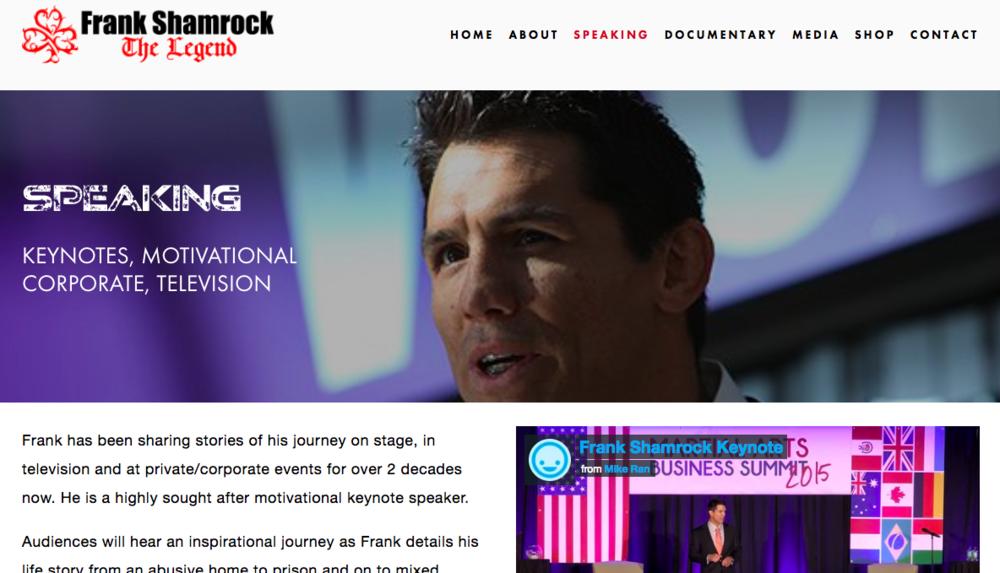 Frank Shamrock - MMA champion, entrepreneur, philanthropist