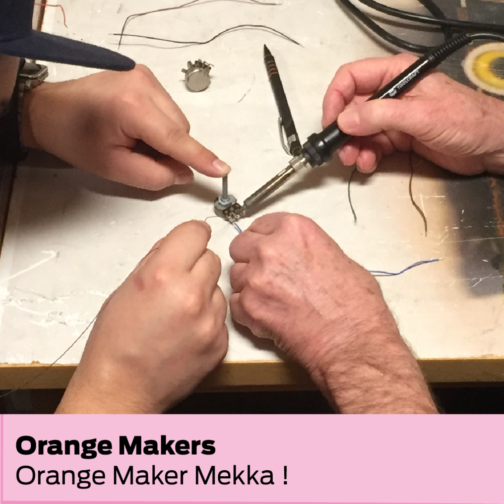 Orange Makers (DK): Orange Maker Mekka !
