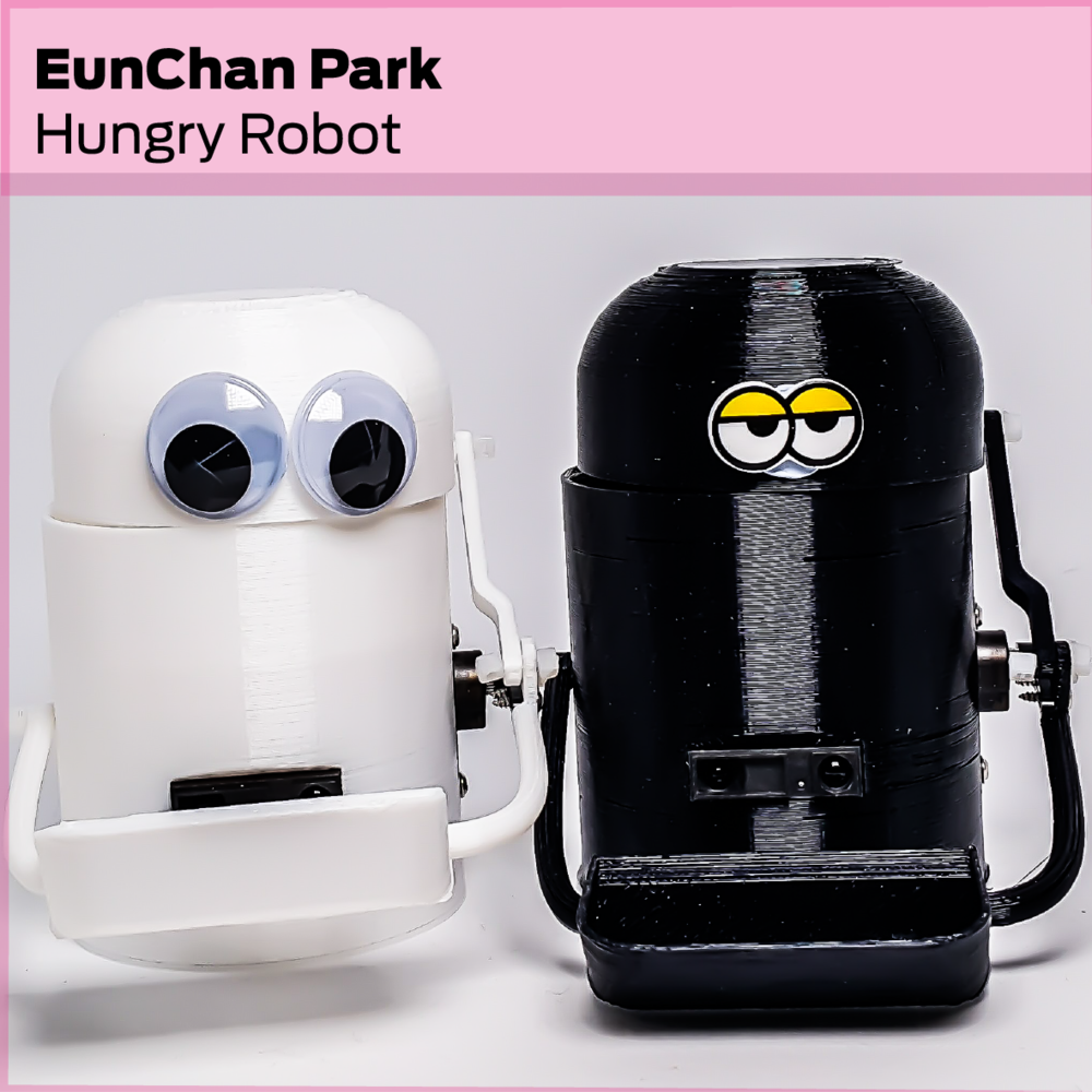 EunChan Park (FI): Sultne robotter / Hungry Robots
