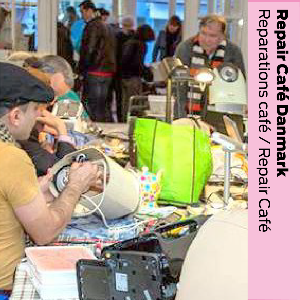 Repair Café Danmark: Reparations café / Repair cafe