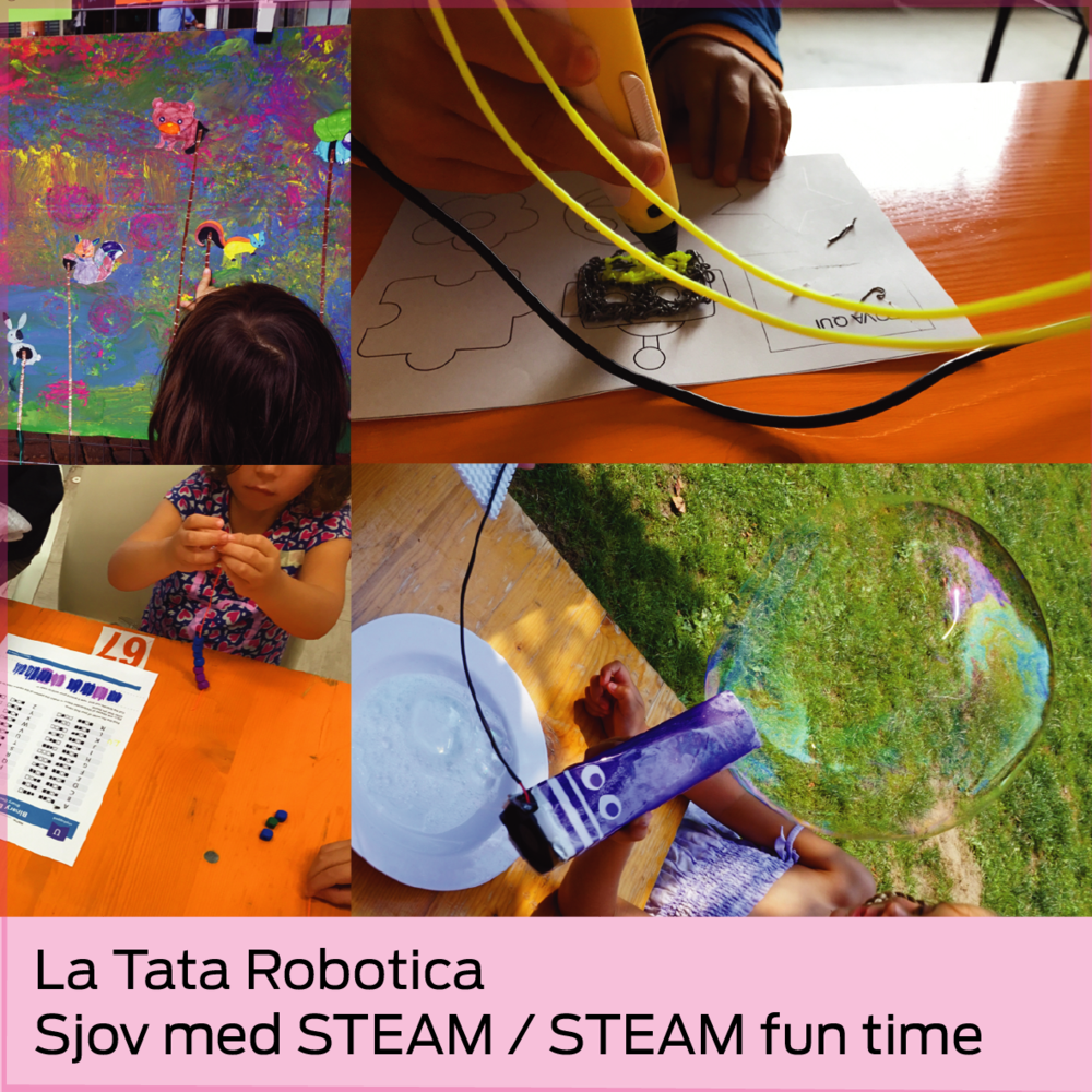 La Tata Robotica: Sjov med STEAM / STEAM fun time