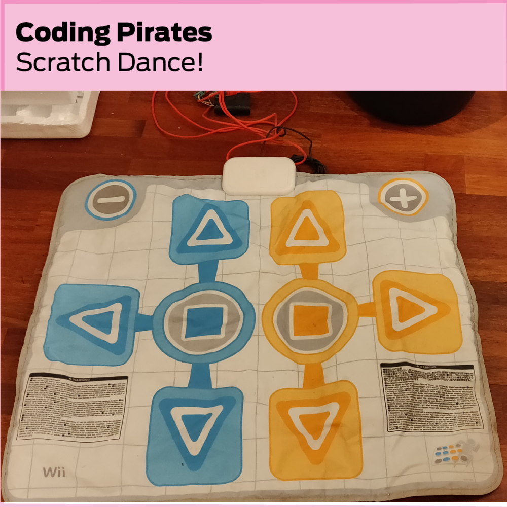 Coding Pirates: Scratch Dance!