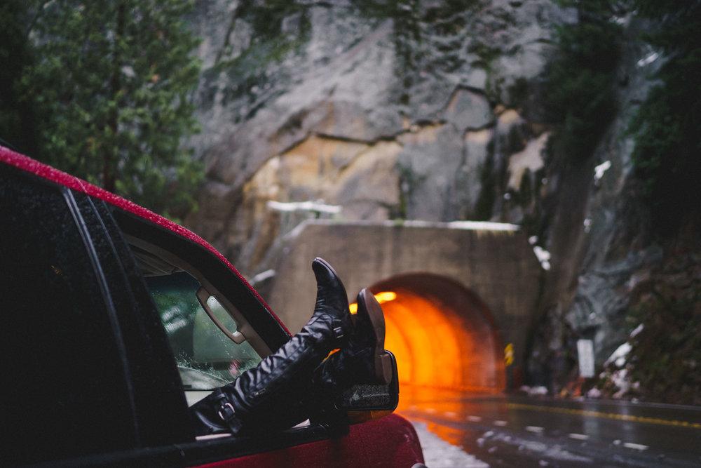 Tunnel View Yosemite Valley California