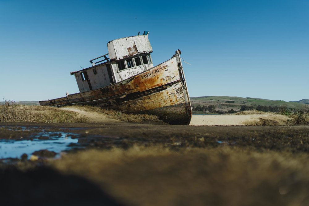 Pt. Reyes California Shipwreck  Photo by Jas Gold Jason Goldsmith