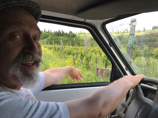 """Italy - Tuscany (Scandicci)  Podere Casaccia """"Sine Felle"""" - Roberto Moretti"""