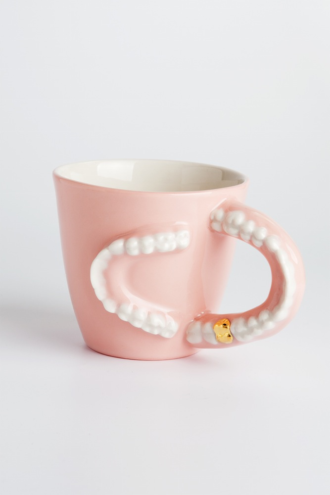 Design Cup with Teeth - quirky design - tableware