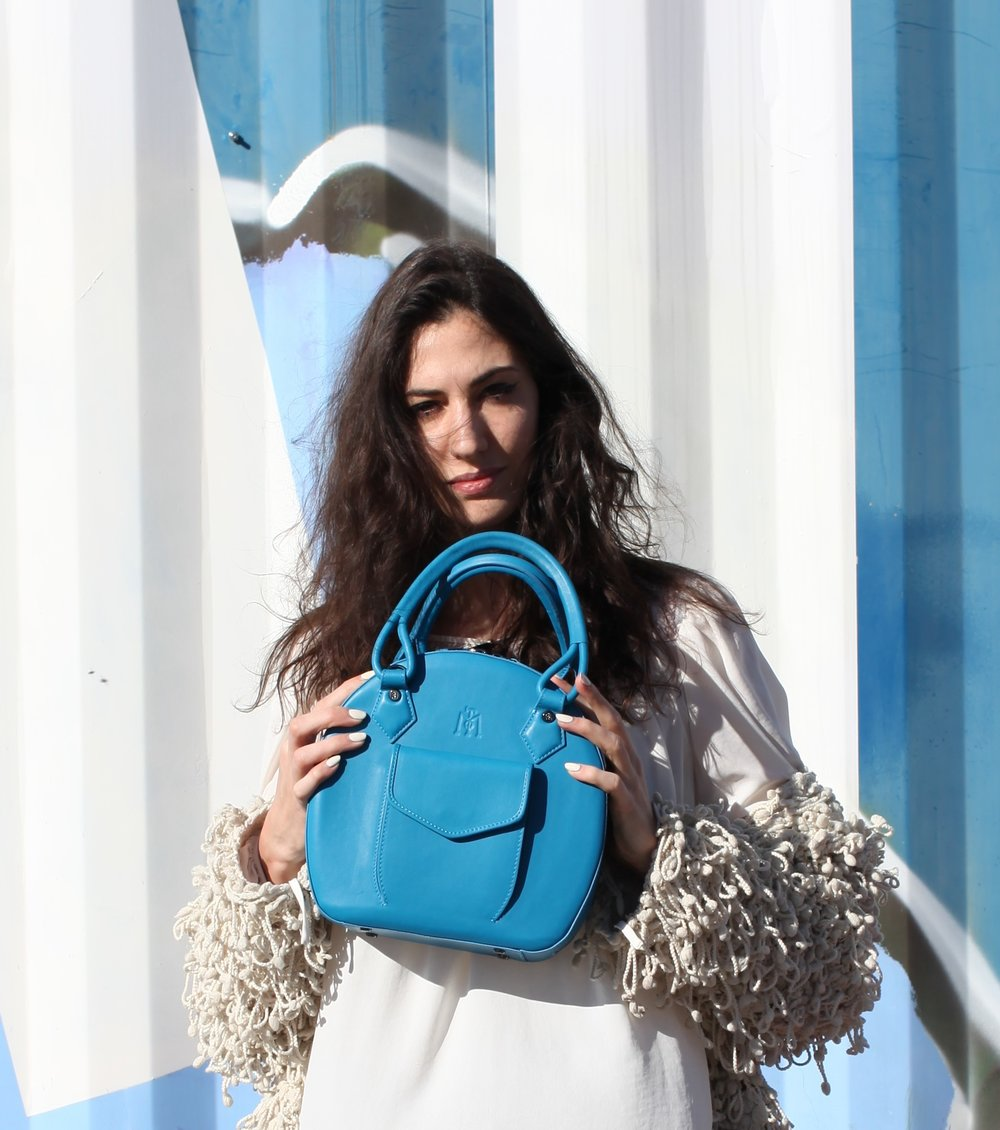Swiss Blogger with Martella Bag