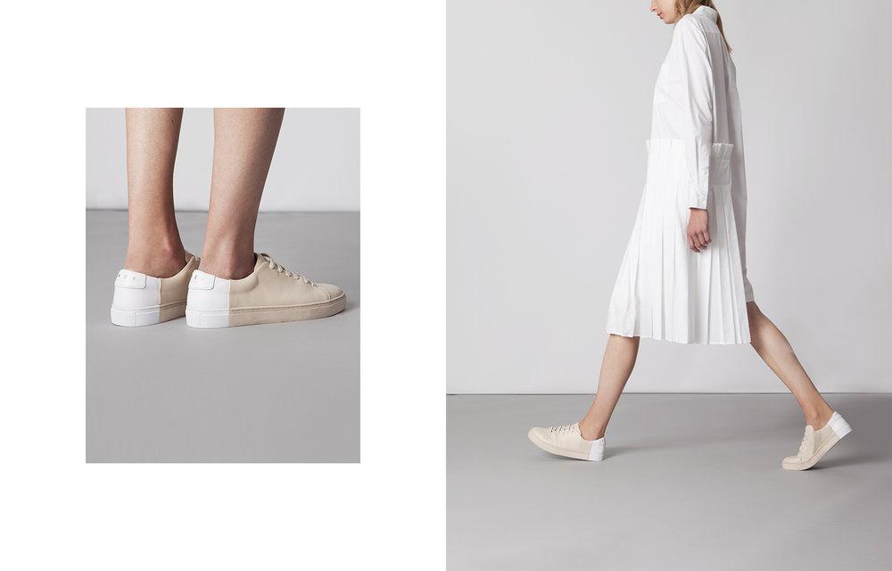 Minimalistic design sneakers