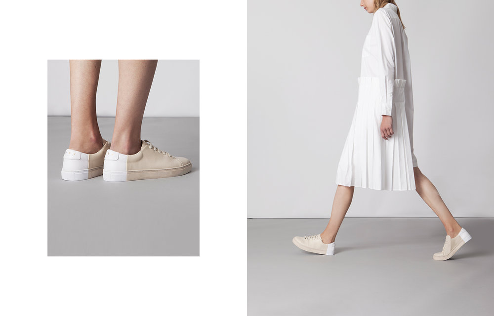 design sneakers New York minimalism