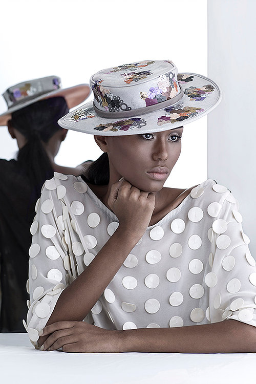 embroidered hat emerging brazilian label