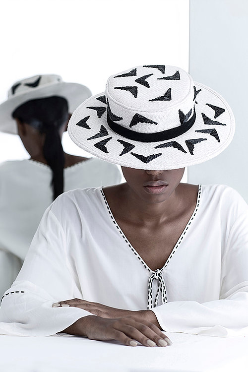 black and white hat brazilian brand