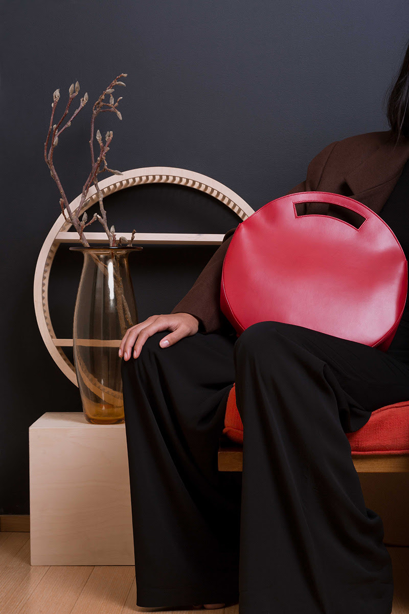 Ethically made circular tote by Vereverto