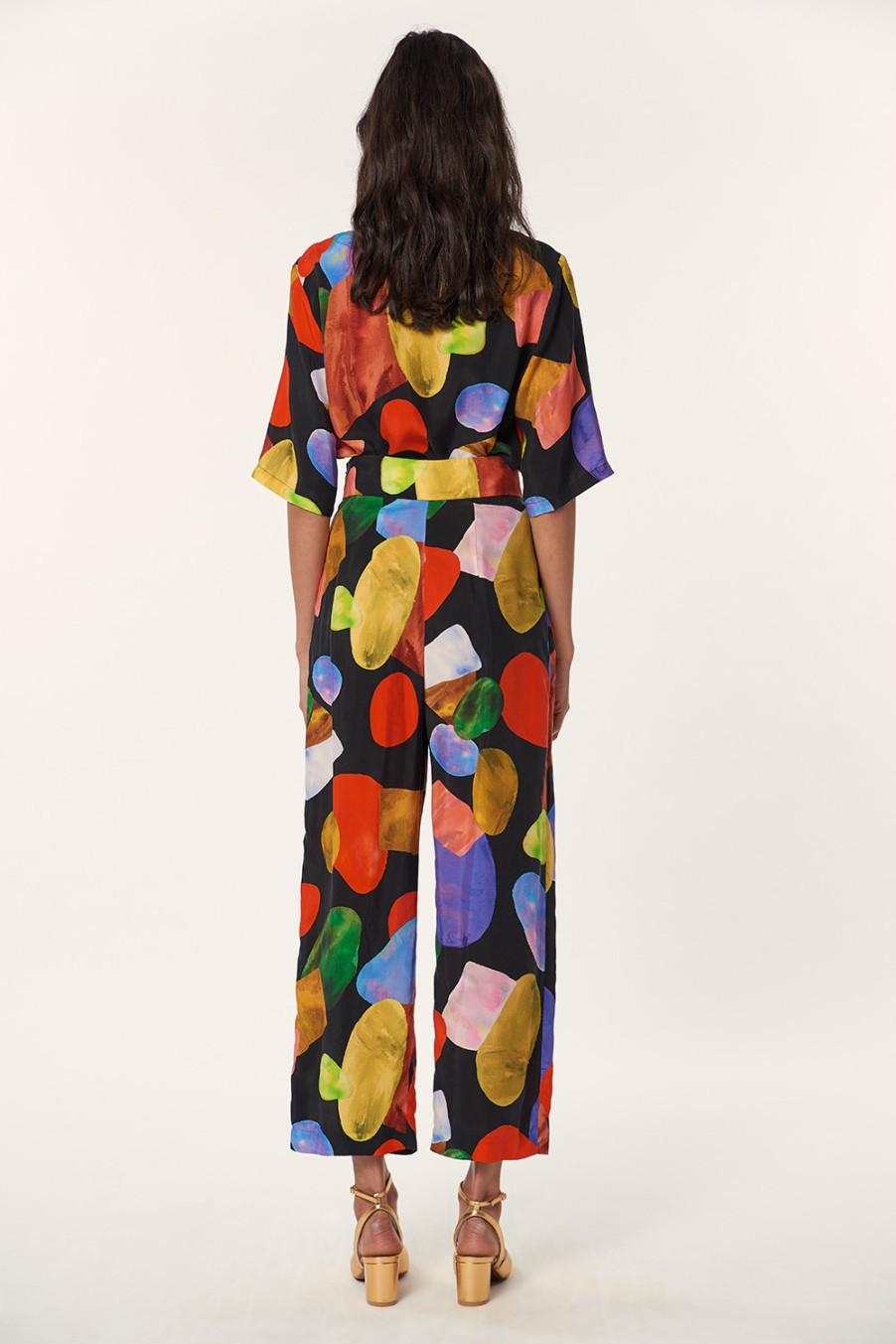 Mara Hoffmann Colorful unique dress fall collection 2017