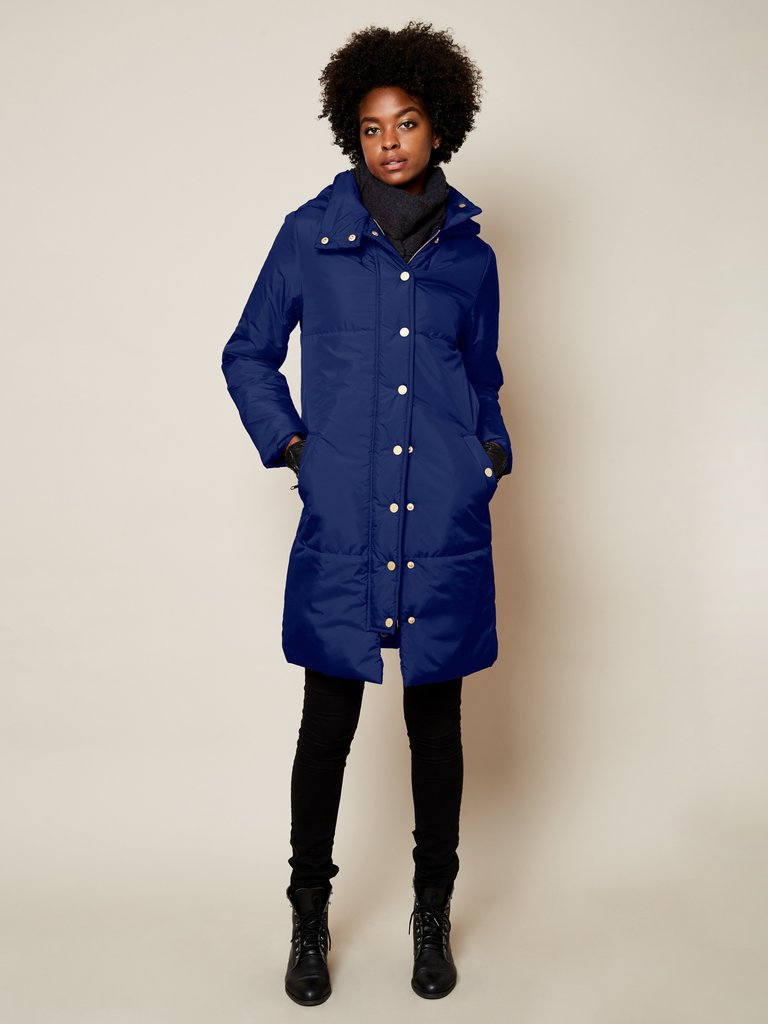 winter coat recycled fibers ethical fashion