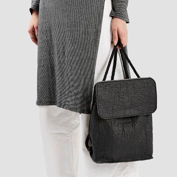 Ethical fashion vegan design backpack