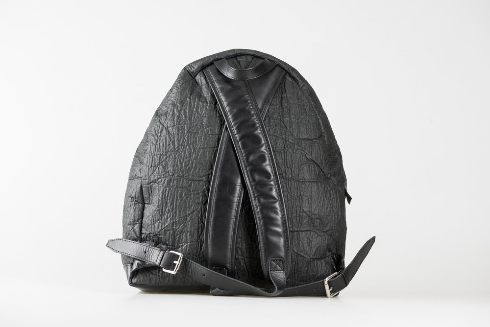 vegan backpack made of eco friendly material