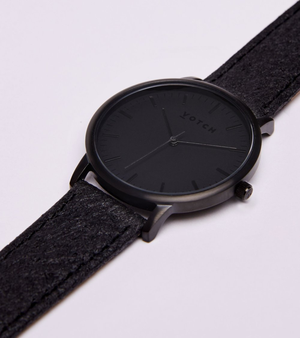 votch watches pinatex collection