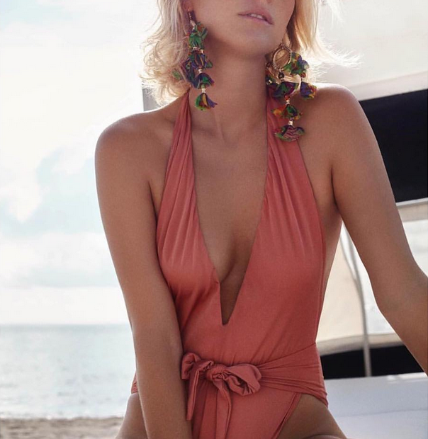 ethical swimwear brand based in the UK - sustainable swimwear made of recycled fibers and fishing nets