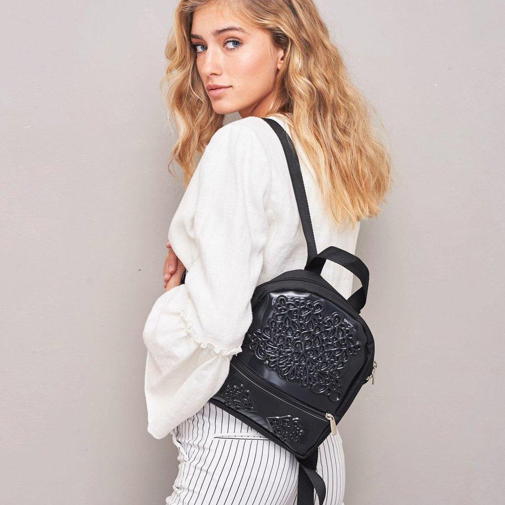sustainable backpacks from a Tel Aviv brand