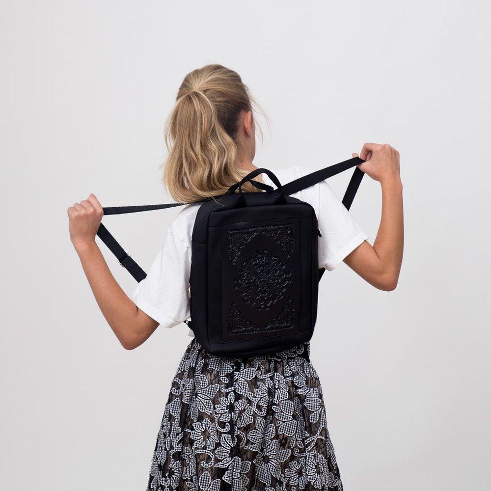 beatiful vegan backpack