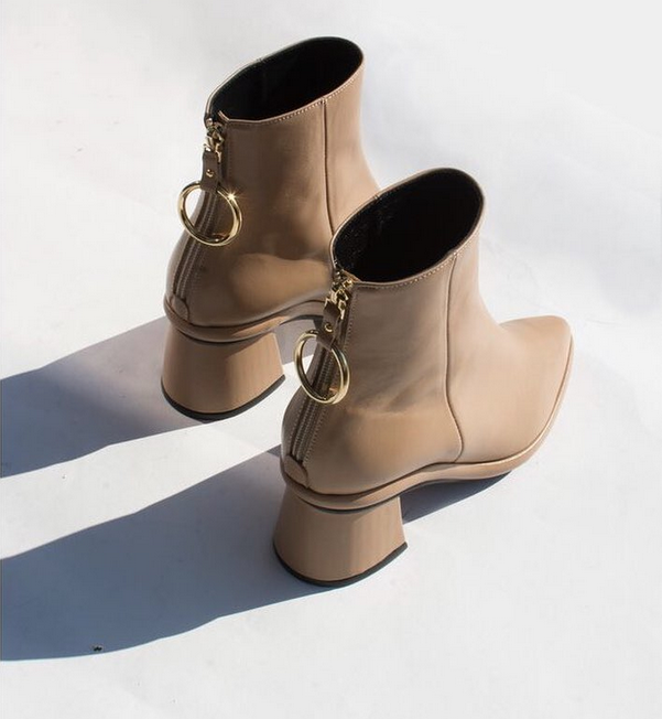 ring boots by seoul based ethical fashion brand Reike nen