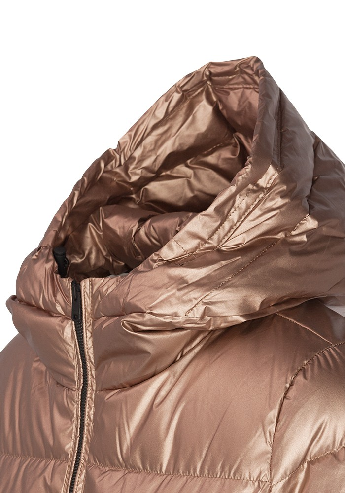 coat insulated with certified cruelty free down