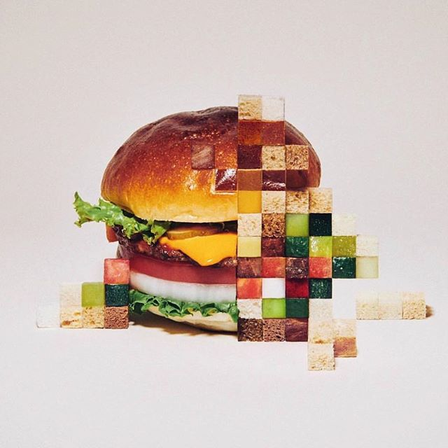My kinda brunch. #pixels #foodandart / by @yuni_yoshida