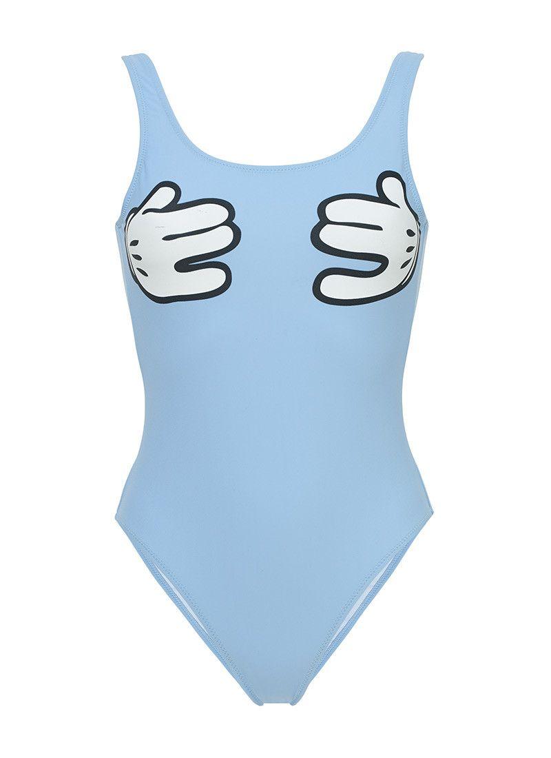 Cartoon Hands swimsuit 110€