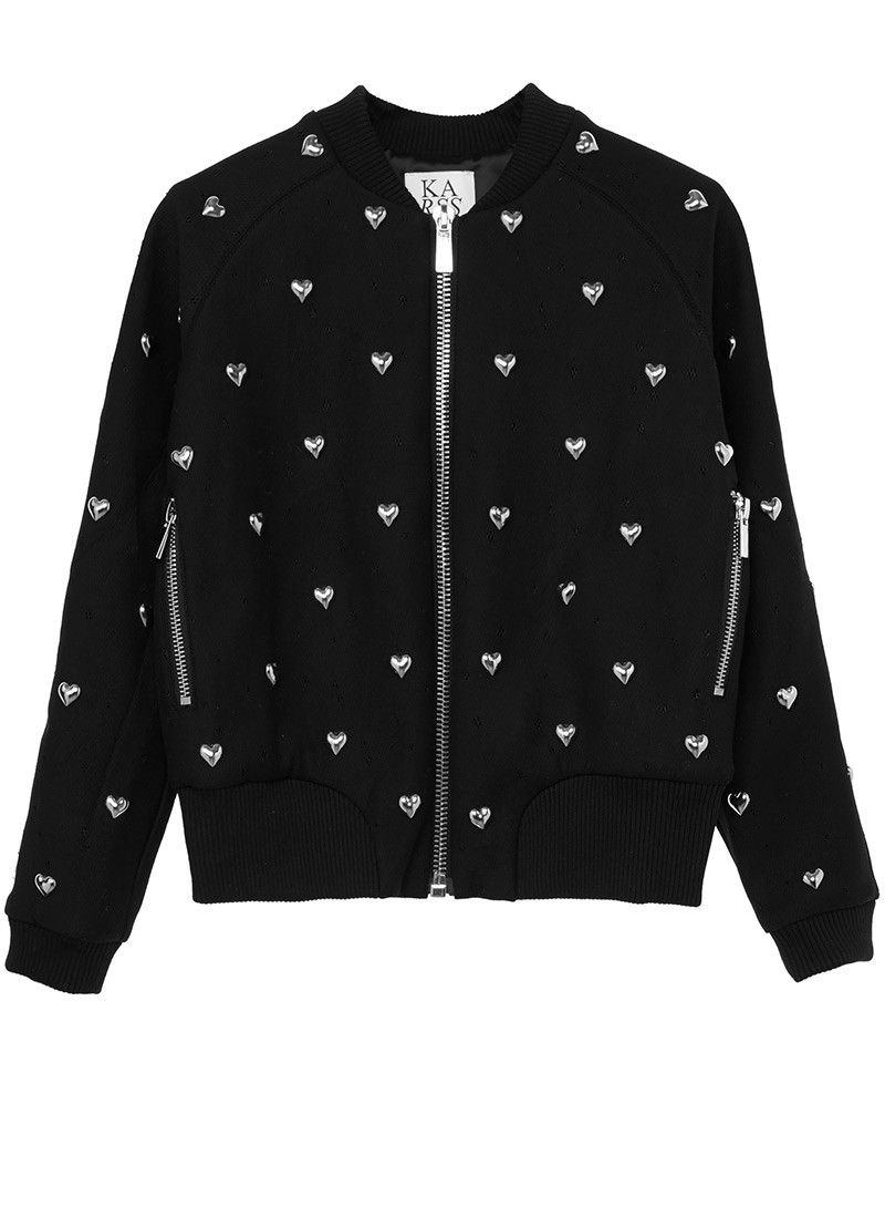 Hearts All Over bomber jacket 390€