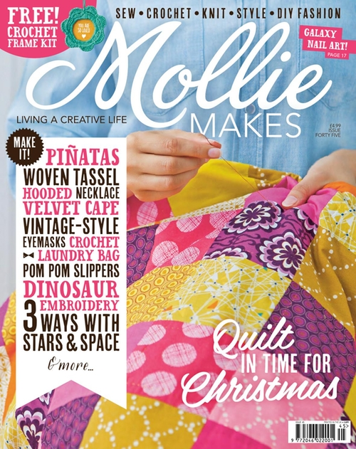 MOLLIE MAKES - ISSUE FORTY FIVE