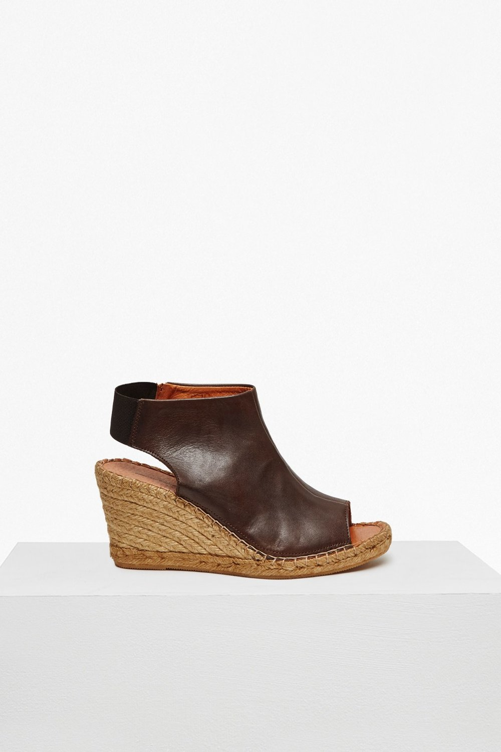 Avery Leather Espadrille Wedge, French Connection, £90
